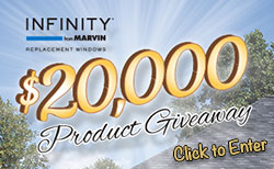 Infinity from Marvin $20,000 Product Giveaway Sweepstakes